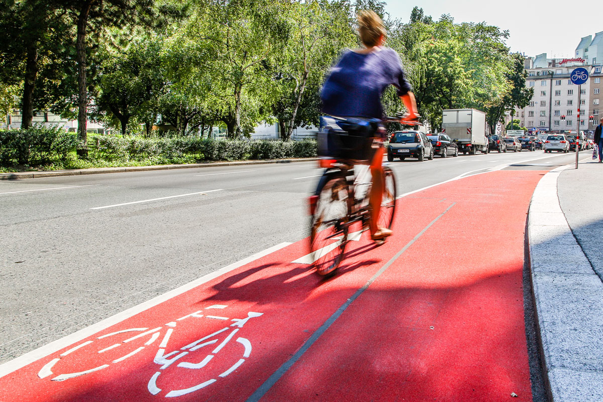 Radkompetenz-Trip: Deutsche Fahrradakademie besucht Wien
