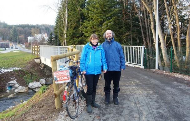 Heidi und Stephan am Strasserhofweg in Andritz