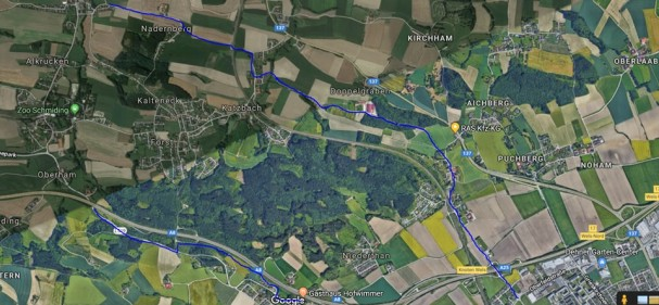Neue Radwege in Krenglbach