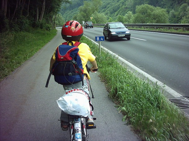 Radweg Linz - Puchenau