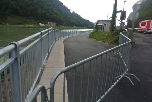 Radhauptroute Puchenau vor Eröffnung