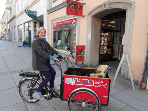 LaRa Lastenradverleih in Wiener Neustadt
