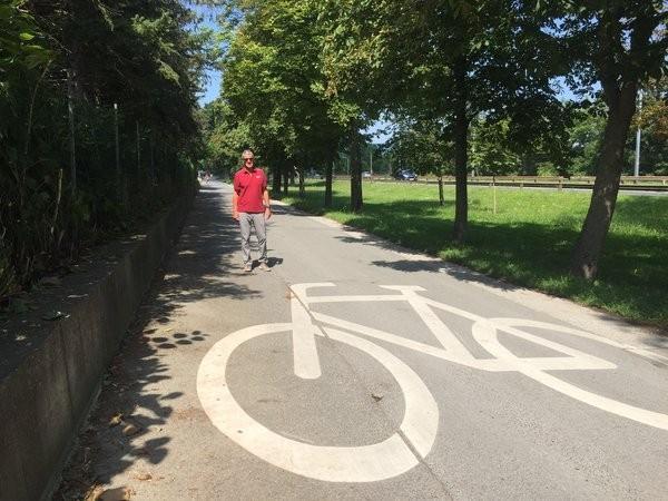 Fahrradstraße Hofjagdstraße