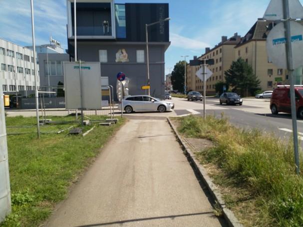 Radwegende Gallanderstrasse