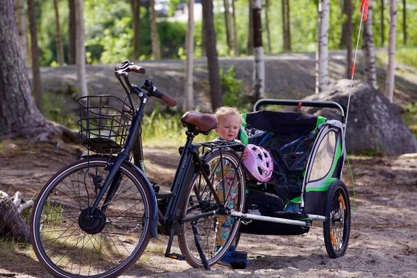 Fahrradreise mit Baby: Tipps für einen entspannten Trip