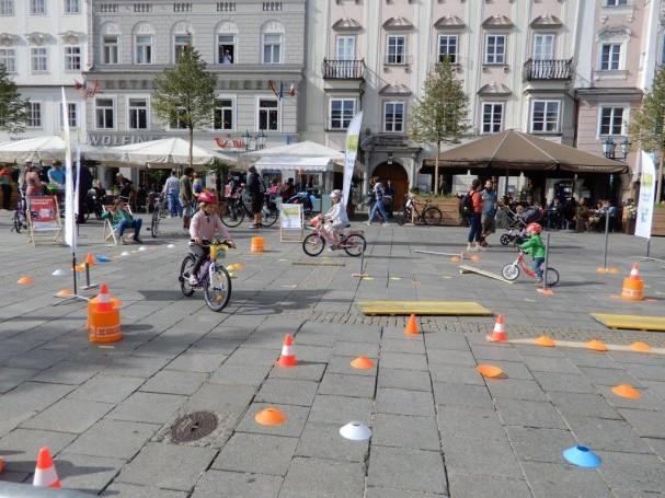 Kinderradspass Parcour
