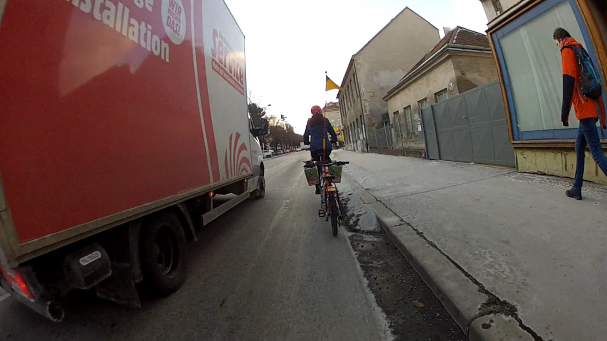 Sicher mit dem Rad in Döbling nach Hause zu kommen, ist in vielen Grätzln leider eine Mutprobe.