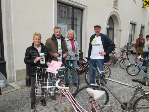 Radlobby Radbörse in Krems