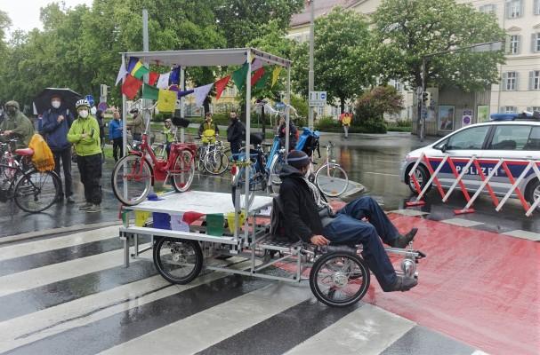 XYZ-Lastenrad beim Ringradeln