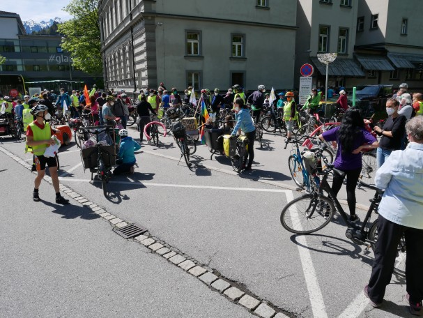 Vom Piz zum Spitz 2021 - Feldkirch Busplatz