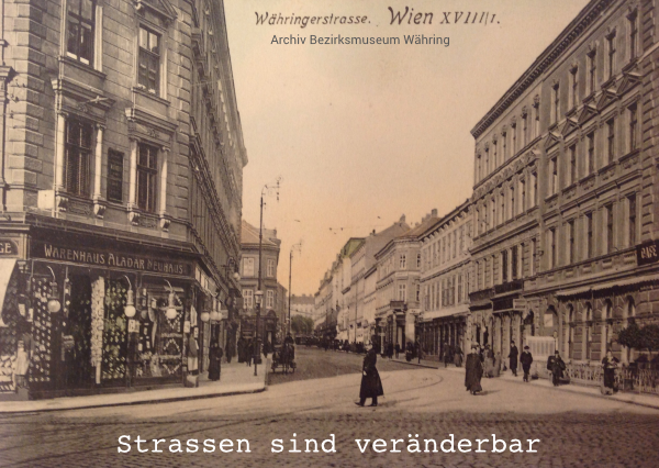 Tram-Rad-Route Postkarte 1 Vorderseite