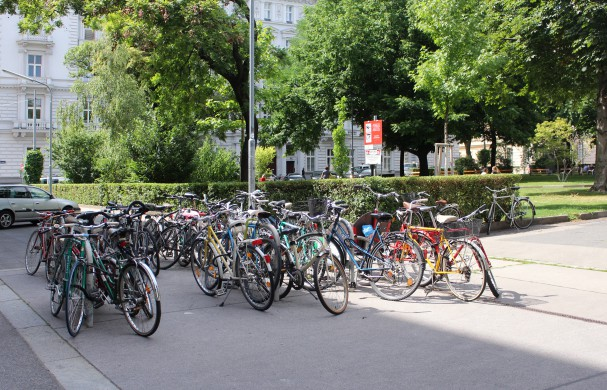 Fahrradbügel Schillerplatz