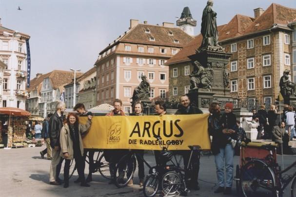 GründerInnen der ARGUS Steiermark
