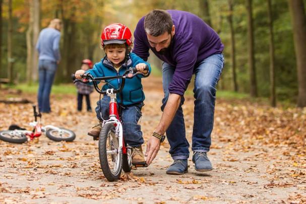 Wie Kinder Radfahren lernen   Radlobby