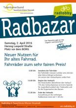 Radbazar in Wiener Neustadt, 2. April 2016