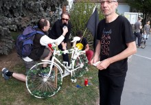 Aufstellung Ghostbike