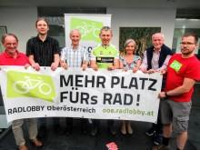 Vorstandsteam der Radlobby Oberösterreich