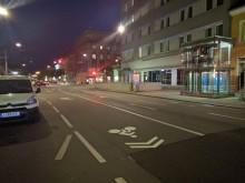 Sharrows in der Wiener Straße