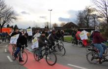 Critical Mass Engel-Kreisverkehr