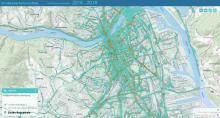 Radverkehrsunfälle in Linz - 2013 bis 2016