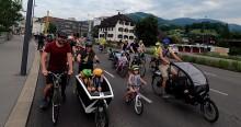 Kidical Mass in Dornbirn