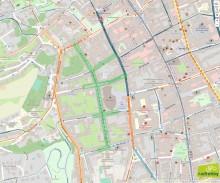 Skizze neue Begegnungszone im Domviertel