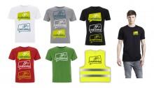 Beispiele für Farbkombination Logo und Stofffarbe