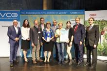 Preisverleihung des VCÖ Mobilitätspreis