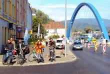 Befahrung 2012 im Bereich Wienerstraße - Erzherzog-Johann-Gasse