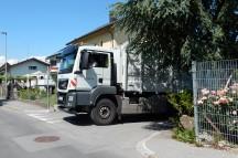 Landeseigene Lkw werden im Herbst mit Abbiegeassistenten nachgerüstet