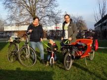 Radsaisoneröffnung 2021 im Familienkreis