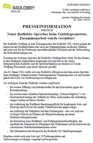 Presseinformation 2014-01-11