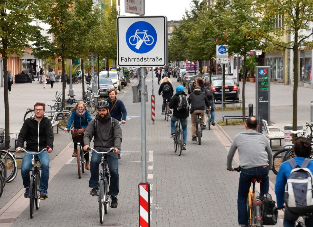 Fahrradstraßen