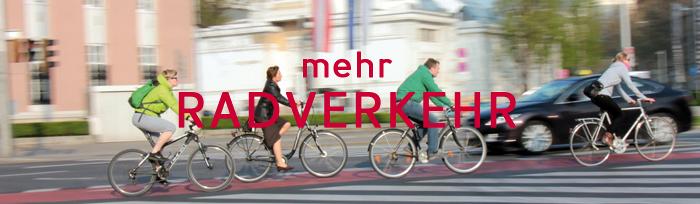 mehr Radverkehr